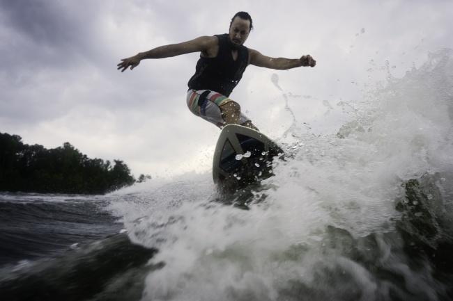 Wake Surfing, lake anna, stafford county, virginia, va, summer, family, visit, travel, lake, lake house, boat, photography, rent house,