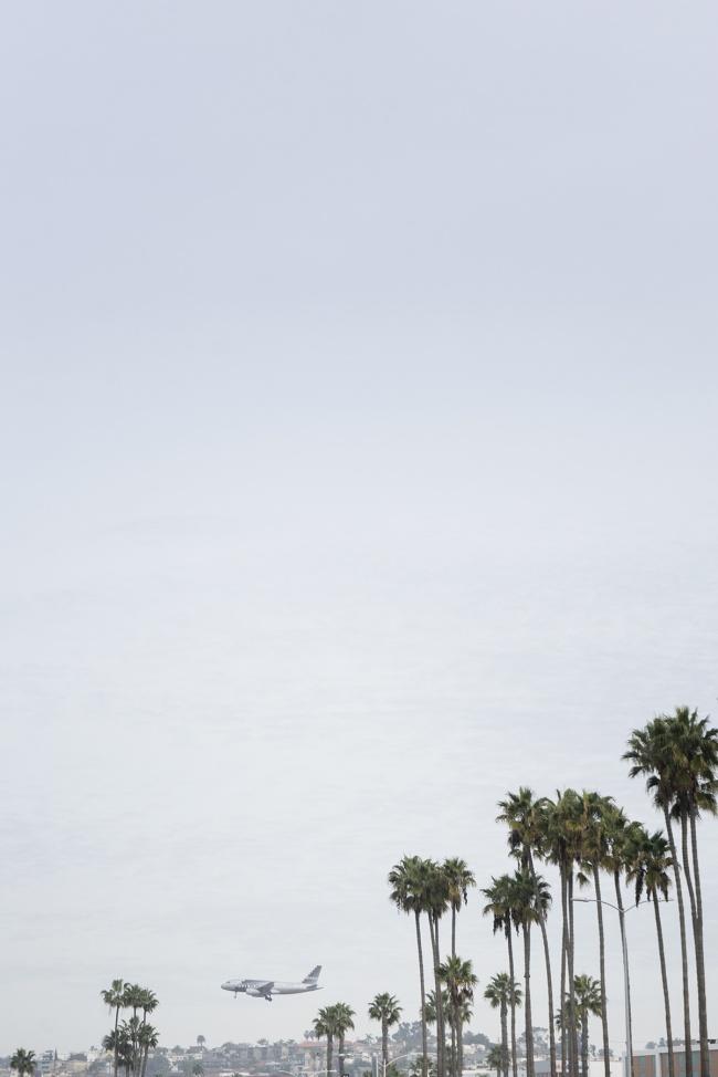 Look it's a plane, san diego, california, travel, socal, palm trees, airplane, girls trip, aruba, caribbean, flamingos, blue water
