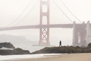 Baker Beach, San Francisco, california, beach, golden gate bridge, pacific ocean, golden gate national park, fog, west coast, california, travel, things to do, sony, update,