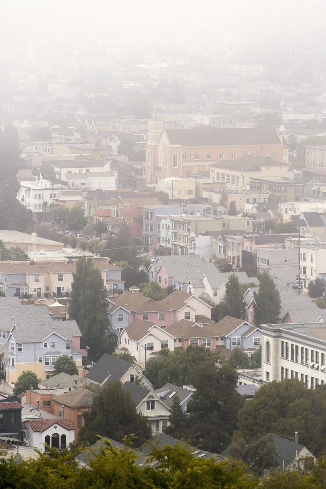 San Francisco Weather, san francisco, bay area, mission district, bernal heights park, fog, karl the fog, weather, summer, fogust, local, neighborhoods, workout