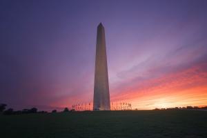 washington monument, sunset, washington dc, national mall, george washington, monument, memorial, travel, visit, airport,
