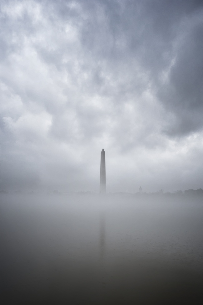 Washington Monument, washington dc, travel, tidal basin, monuments, memorials, fog, winter, cold, travel, to do, weather, best places to photograph, west potomac park, clouds, moody, instagram