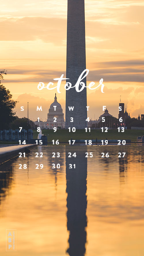 October Wallpaper Download_Angela B Pan