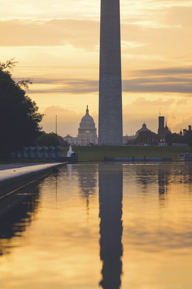 US Capitol, reflecting pool, national mall, washington dc, washington monument, lincoln memorial, sunrise, early morning, photographers, to do, best place,
