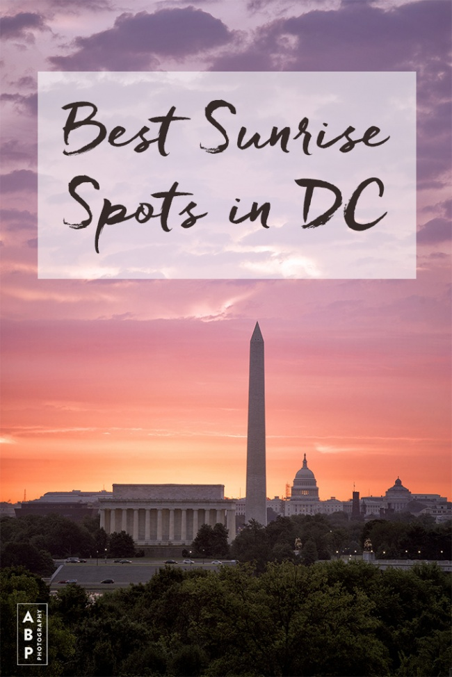 Best Places to Watch and Capture Washington DC Sunrises, Best Sunrise Spots in DC, washington dc, lincoln memorial, best of, national mall, reflecting pool, sunrise, early morning, vietnam veterans memorial, korean war memorial, netherland carillon, arlington va, virginia, washington monument, us capitol, capitol building, monument, memorials, tidal basin, cherry blossoms, martin luther king jr memorial, mlkj,