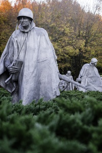 Korean War Memorial, washington dc, national mall, fall colors, autumn, soldiers, memorial, monument, sunrise, early morning, photography tips, photo,