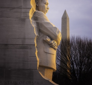 Washington DC, Martin Luther King Jr Memorial, tidal basin, early morning glow, travel, west potomac park, washington monument, sun, national mall,