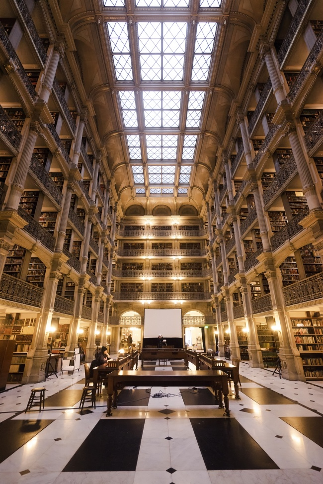 George Peabody Library, baltimore, library, architecture, books, city of baltimore, johns hopkins university, peabody institute library, baltimore city college