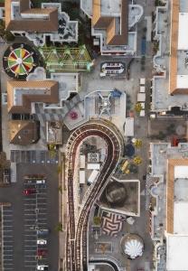 Belmont Park, San Diego, california, southern california, socal, rollercoaster, rides, amusement park, beachfront, amusement park, mission bay, mission beach, mission beach amusement center, dji, drone, mavic pro