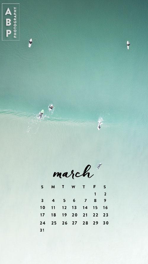 March Wallpaper Download_Angela B Pan