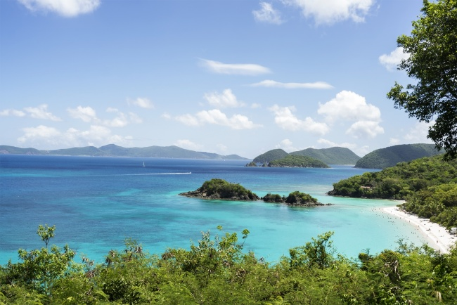 st john, saint john, caribbean, island life, virgin islands, blue water, clear, beach, overlook, tourist, travel, mountains