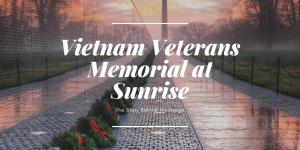 vietnam veterans memorial, washington dc, sunrise, wreaths, wreaths across america, washington monument, washington dc, viral, reflection, the wall, vietnam veterans, in honor