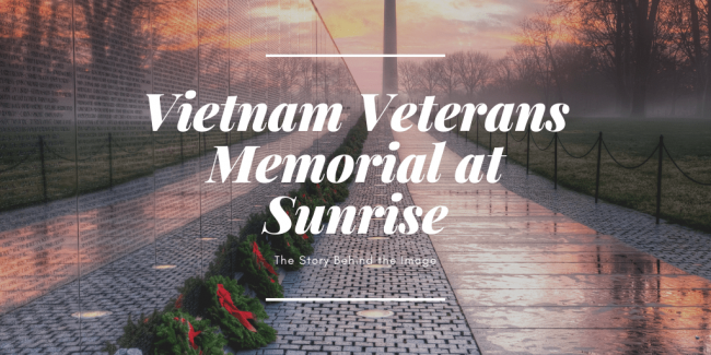 vietnam veterans memorial, washington dc, sunrise, wreaths, wreaths across america, washington monument, washington dc, viral, reflection, the wall, vietnam veterans, in honor