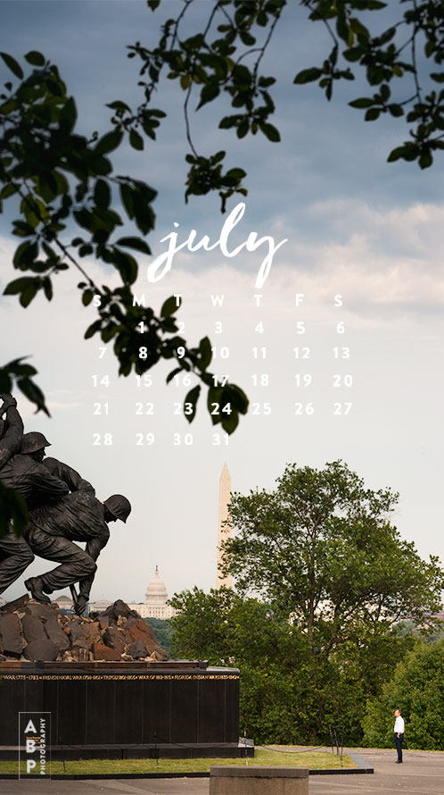 July Wallpaper Download_Angela B Pan