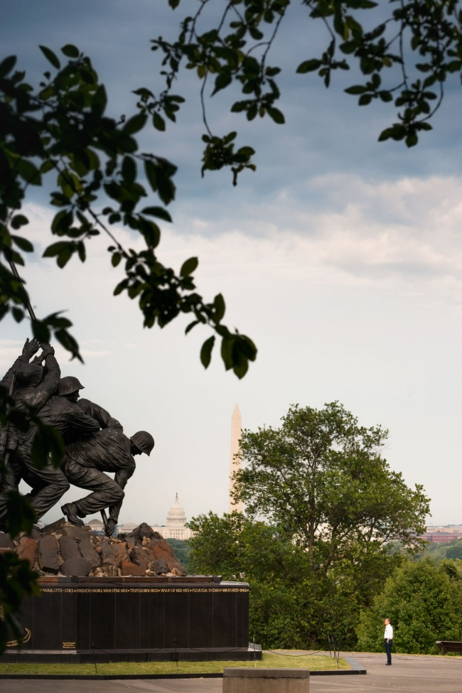 us marine corps memorial, arlington, virginia, va, washington dc, iwo jima, washington monument, us capitol, storm, visiting