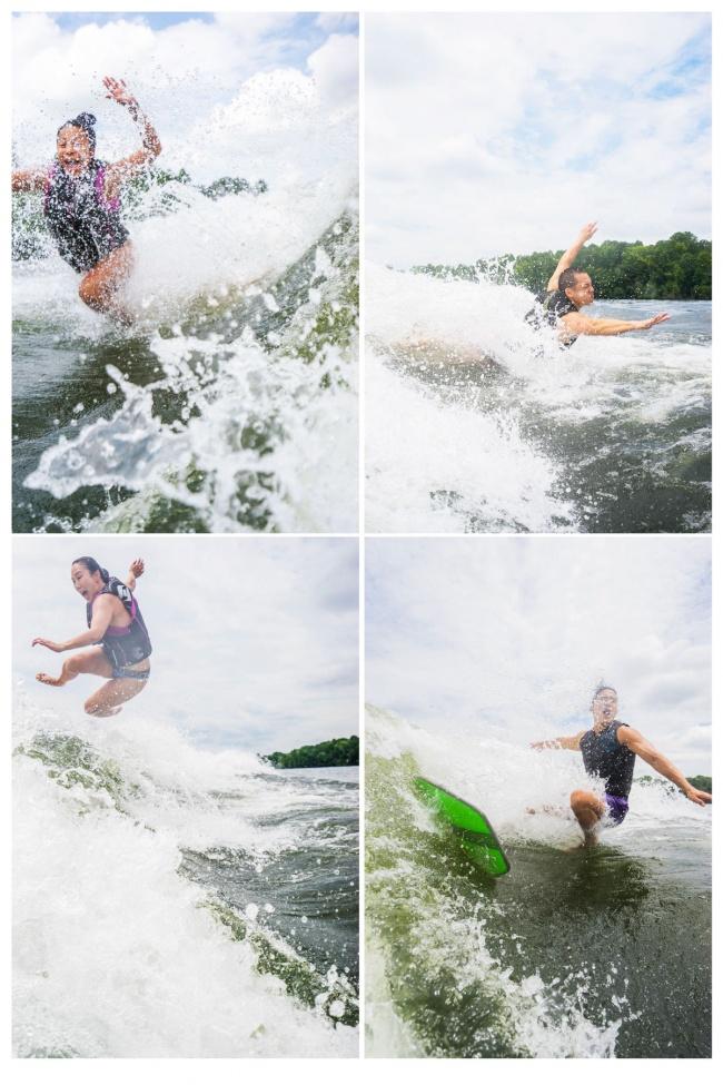 lake anna, virginia, spotsylvania, louisa, va, freshwater, wakesurfing, wake surf, wake surf board