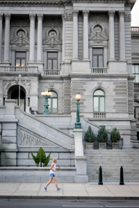 library of congress, capitol hill, washington dc, us capitol, exterior, architecture, runner, street photography, loc, visiting,