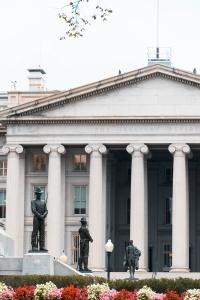 united states department of treasury, washington dc, treasury department, presidents park, white house, statues, General William Tecumseh Sherman Monument,