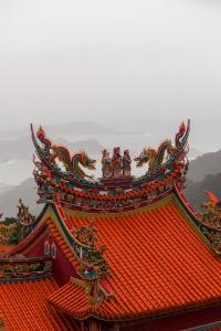 jiufen, jioufen, taiwan, taipei, temple, mountains, shengping theater, landscape, mountains, bus