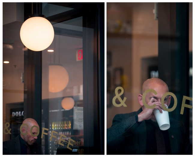 street photography, washington dc, city center, dolcezza, Dolcezza Gelato, coffee, coffee shop, coffee window, dolcezza city center