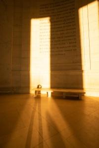 jefferson memorial, washington dc, national mall, the mall, interior of the jefferson memorial, shadows, selfie, washington dc,