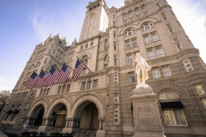 trump international hotel, old post office, national mall, washington dc,