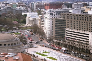 white house, eisenhower executive office building, washington dc, old executive office, freedom plaza, government building