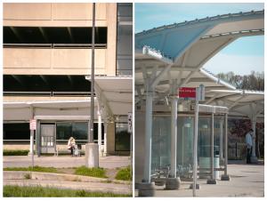 metro, public transportation, vienna, vienna metro, bus stop, passengers