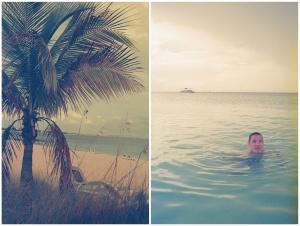 turks and caicos, island, caribbean, ocean, palm trees, film