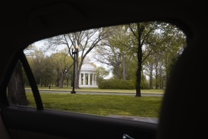 washington dc, covid19, coronavirus, inside the car, framing, wwi memorial