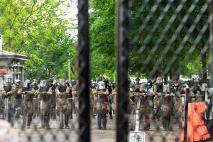 national guard, washington dc, police, fence, protest, protection,