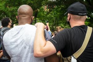 george floyd, social injustice, protest, black lives matter, racism, social interaction