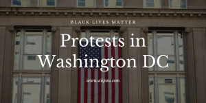 washington dc, protests, american flag, street photography, protest photography, black lives matter, george floyd,