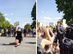white house, protestors, i can't breathe, black lives matter, protest, protestors,