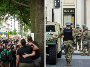 protest, national guard, washington dc,