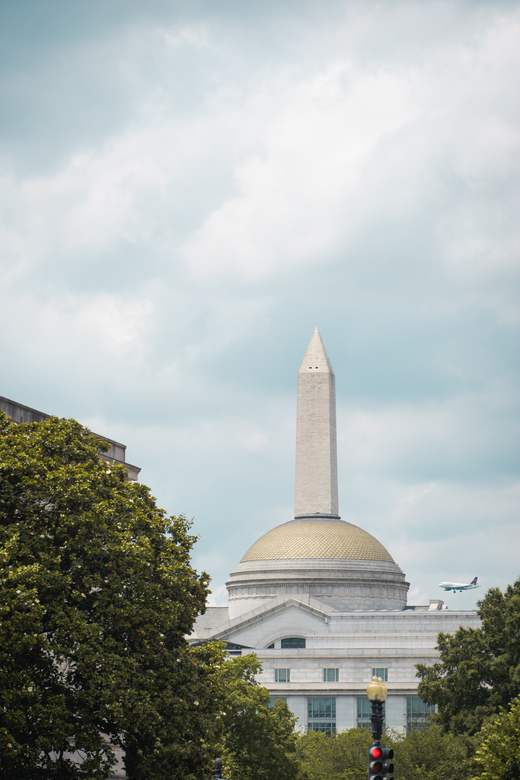 washington dc, washington monument, smithsonian, natural history museum, airplane, dca,