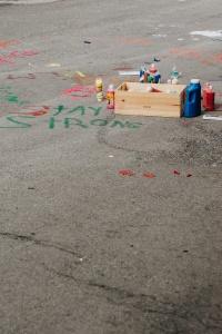 stay strong, black lives matter, washington dc, black lives matters plaza, street art,