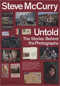 steve mccurry untold, the stories behind the photographs, steve mccurry, afgan girl, photography books