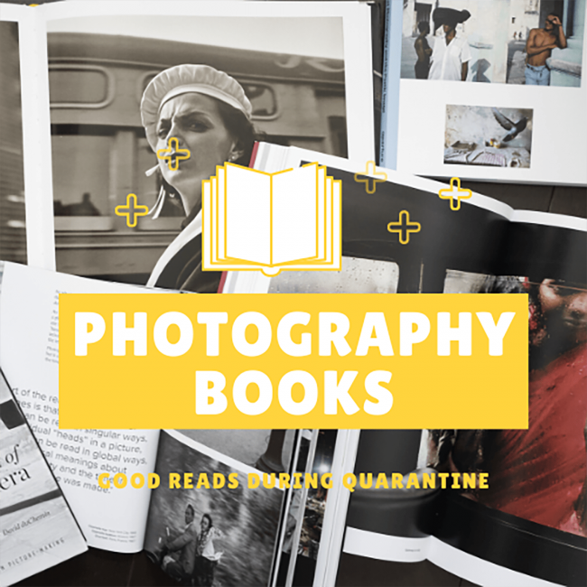Photography books, art books, best photography books, quarantine,