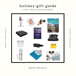 holidays, gift guide, photographers, photo, photogaphy gifts, gift ideas, holiday gift guide for photographers