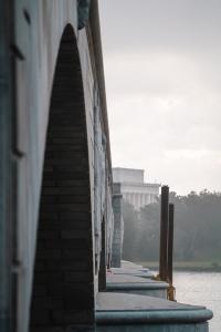 arlington, virginia, washington dc, memorial bridge, lincoln memorial, national mall, potomac river,