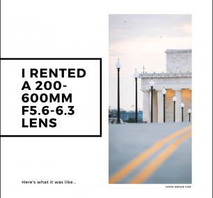 200-600mm, lincoln memorial, washington dc, rental lens, lensrental, blog, photography, photographer, photo,