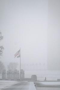 washington monument, washington dc, reflecting pool, wwii memorial, national mall, snow, inclement weather, snow inspiration