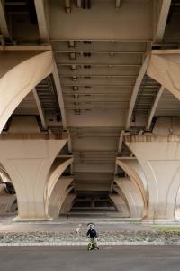 alexandria, virginia, va, under bridge, jones point park