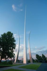 air force memorial, sunrise, virginia, arlington, military